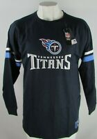 Tennessee Titians NFL Majestic Men's Navy Blue Long Sleeve T-Shirt