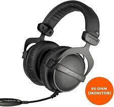 beyerdynamic DT 770 M 80 Ohm Closed Back Over-Ear Monitoring Headphone Used