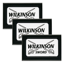 15 Blades WILKINSON SWORD | Double Edge Razor Blades | Safety DE | Int. Post