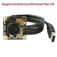 USB 5MP CMOS 180° Fish Eye Lenses Surveillance Camera Module for Raspberry Pi