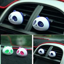 FASHION 2PC Cute Panda Auto Car Air Freshener Clip Perfume Diffuser For Car Home
