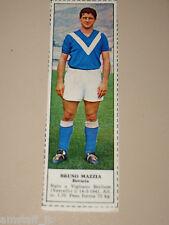 *+ BRUNO MAZZIA BRESCIA=FIGURINA=1966/67=ALBUM FIGURINE CALCIATORI TEMPO