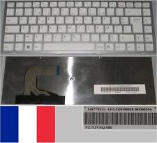 Clavier Azerty Français SONY VPC-S  AEGD3F00020 9Z.N3VSQ.50F 148778231 Blanc
