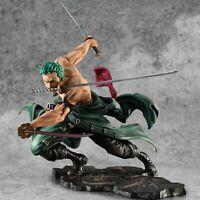 Hot Selling One Piece 18cm Anime Figure Roronoa Zoro 1/8 Three-blade Sa-maximum