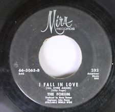 Rock 45 The Forum - I Fall In Love / The River Is Wide On Mirr Records