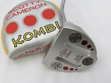 "Titleist Scotty Cameron Studio Select Kombi 34"" Putter Circle T Weights + Cover"