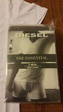 New! Sz: L Diesel The Essential Jake 3-Pack Assorted V-Neck Short Sleeve T-Shirt