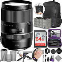 Tamron 16-300mm f/3.5-6.3 Di II VC PZD Macro Lens for Canon DSLR with Bundle