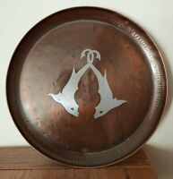 Antique Arts And Crafts Movement Copper tray by Paul Gilling