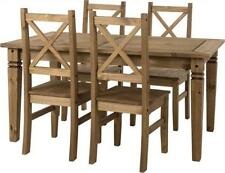 Pine Up to 6 5 Table & Chair Sets with Flat Pack