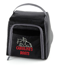 EQUESTRIAN personalised Sports Boot bag QUADRA QD85 Horse riding hiking boots