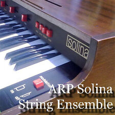 ARP SOLINA STRINGS ENSEMBLE - Large Original WAV/Kontakt Samples Library on DVD