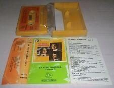 MC LA VERA ROMAGNA I GRANDI DEL LISCIO volume 7 - musicassetta stereo tape italy