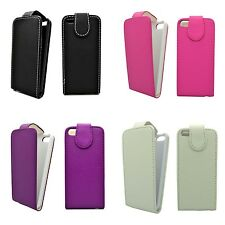 CASE FOR APPLE IPHONE 4/4S FLIP PU LEATHER IN VARIOUS COLORS POUCH PHONE COVER