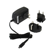 Mains Charger Adapter Plug With UK/EU/US Converter For Blackberry PlayBook Phone