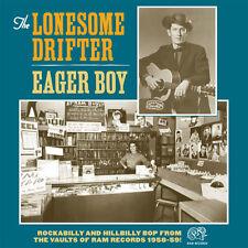 LONESOME DRIFTER Eager Boy LP cramps psychobilly cash hasil adkins Hank Williams