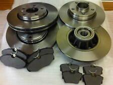 VAUXHALL VIVARO 1.9 2.0 2.5 FRONT & REAR BRAKE DISCS & BRAKE PADS + ABS 2002-14