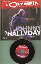 JOHNNY HALLYDAY ALBUM LIVRE CD OLYMPIA 2000 COLLECTOR NEUF SOUS BLISTER