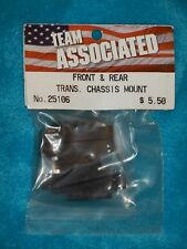 ASSOCIATED 25106 FRONT/REAR TRANS CHASSIS MOUNTS NIB MGT 1:8