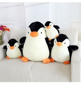 Penguin Soft Plush Toys Cuddly Stuffed Animals Cute Chubby Penguins