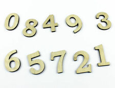 Numbers Wedding Decorative Plaques & Signs