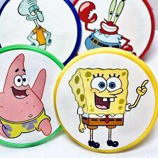 Spongebob Squarepants Cupcake Toppers Party Favors Rings Party Supplies - 20 pcs