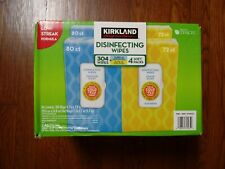 4 packs Kirkland Disenfecting Household Wet towels cleaning Same Day Shipping