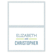 24 Smart Type Personalized Wedding Place Cards