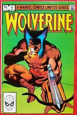 WOLVERINE 4 MARVEL 1982 Near Mint+