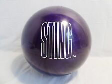 UNDRILLED STING WCW/NWO Wrestling Vintage 1999 Collector Series Bowling Ball