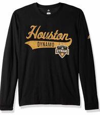 Adidas Men's Houston Dynamo Tail Stack Tri Blend Soccer Jersey Shirt XXL 2XL