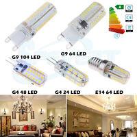 3W 5W 7W G9 G4 E14 LED Ampoule 3014 SMD Froid Chaud Blanche Corn Light Lamp Bulb