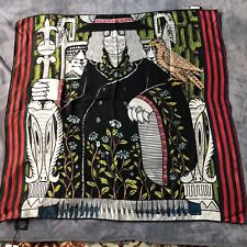 "GUCCI ""ALESSANDRO POWER FOULARD"" 100% Silk Carré 90 X90 UNIQUE  FREE SHIPPING!"