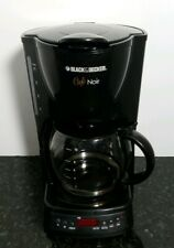 Cafe Noir Model #Dcm1400B 10 cup programmable coffee maker Black & Decker
