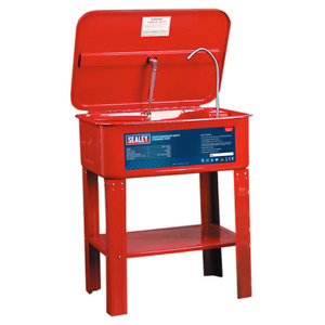 Sealey Tools SM19 Parts Cleaning Degreasing Washer Tank 50 Litre + Floor Stand