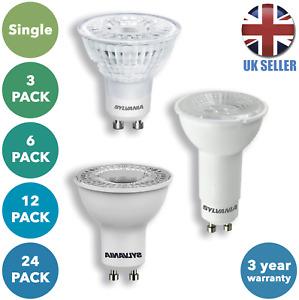 LED GU10 Spotlight Bulb Energy Saving 5W Downlight A+ Light Lamp Lightbulb