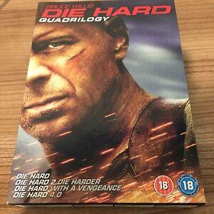 Die Hard/Die Hard 2/Die Hard With A Vengeance/Die Hard 4.0 Quadrilogy DVD Set