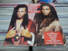 MILLI VANILLI Rob & Fab REMIX ALBUM VINTAGE NEW Flat RARE Poster 2 Sided FREE PH