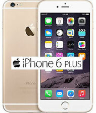 Apple iPhone 6 Plus 16GB 64GB 128GB Unlocked GSM iOS Smartphone All Colors-Gold#