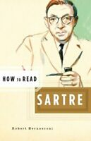 How to Read Sartre by Critchley, Simon Paperback Book The Fast Free Shipping