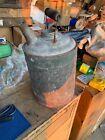 Vintage Oil Kerosene Can Railroad Wooden Handle