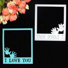 Metal square frame Cutting Dies Stencil For DIY Scrapbook Album Paper Card Craft