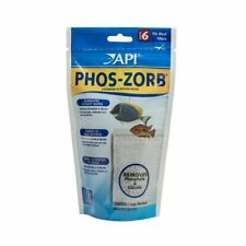API AQUARIUM PHARMACEUTICALS PHOS ZORB SIZE 6 REMOVES TOXINS. USA