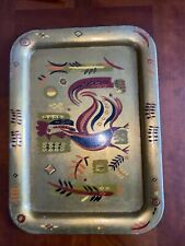 George Briard rooster tray Mid Centery Modern Exceptional!
