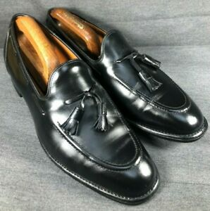 Classic Church's Kingsley Tassel Loafers Shoes RRP £730 Black Leather UK 9