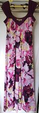 BNWT NEW Debenhams gorgeous waterlilly maxi dress size 16 RRP £60