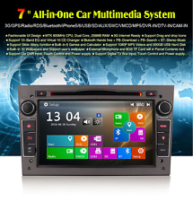 "RADIO DVD 7"" EXCLUSIVA OPEL HD GPS 3G BLUETOOTH IPOD USB"