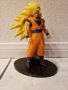 Banpresto Super Saiyan 3 Goku Dragon Ball Z Super Sculptures