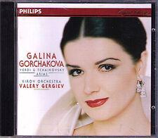 Galina GORCHAKOVA Verdi Tchaikovsky GERGIEV CD Eugene Onegin Pique Dame Aida