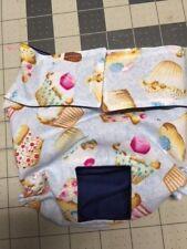 Blue Cupcakes Dog Diaper Panty Adjust Elastic Carols Crate Covers